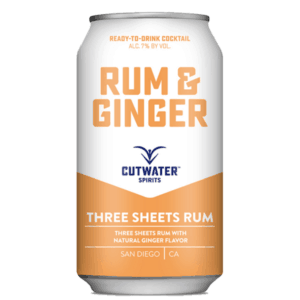 Cutwater Rum and Ginger