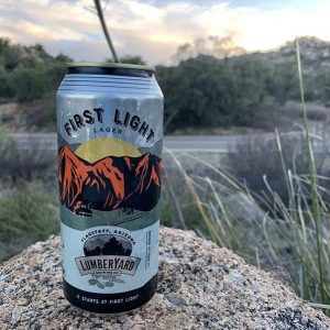 Lumberyard First Light Lager (4 pack 16 oz)